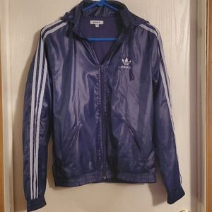 ADIDAS Women's Jacket with Hood, Size Medium